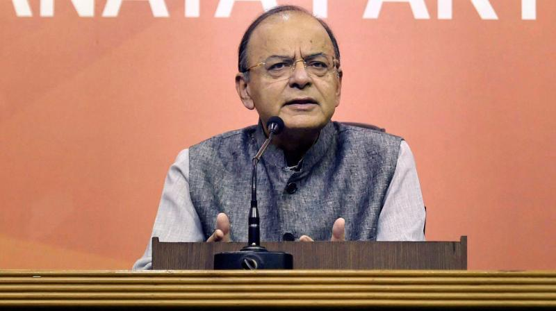 Union Minister for Finance and Corporate Affairs Arun Jaitley (Photo: PTI)