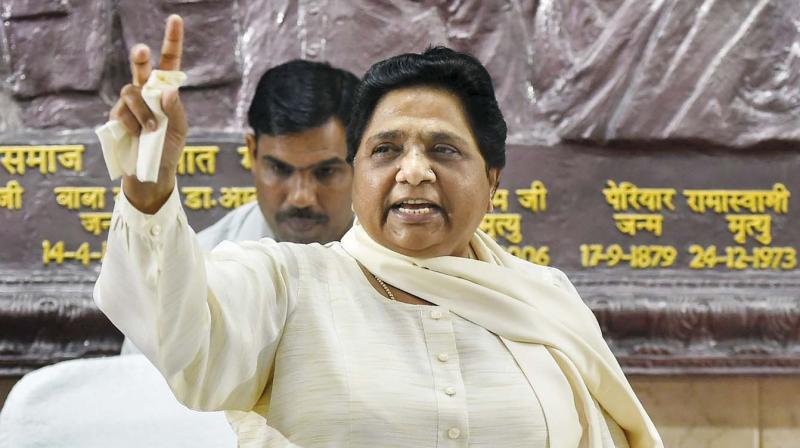 'So now Narendra Modi is Chowkidar & no more a 'Chaiwala' which he was at the time of last LS election. What a change India is witnessing under BJP rule. Bravo!,' Mayawati tweeted. (Photo: File)