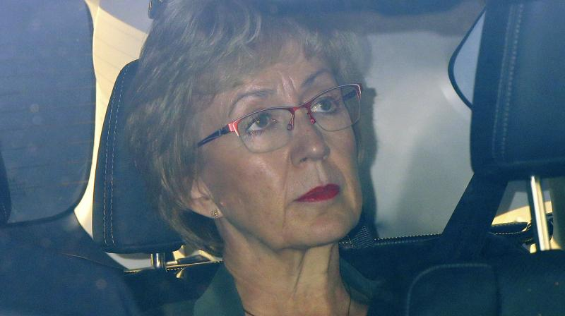 The Prime Minister's office has said that May was 'disappointed' that Leadsom had resigned. (Photo:AP)