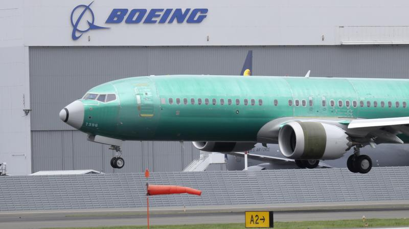 Boeing on Monday said it expects the 737 MAX airplane, which was grounded after two crashes killed 346 people, to resume flying in January, delaying its return by one month. (Photo: File)