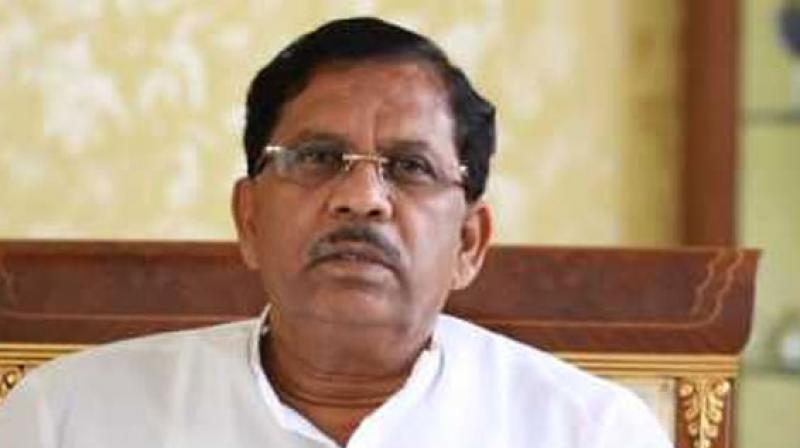 'As far as his statement is concerned it is his individual personal opinion so you should ask him. It is not the party's opinion or assessment,' Karnataka Deputy CM G Parameshwara (Photo: PTI | File)
