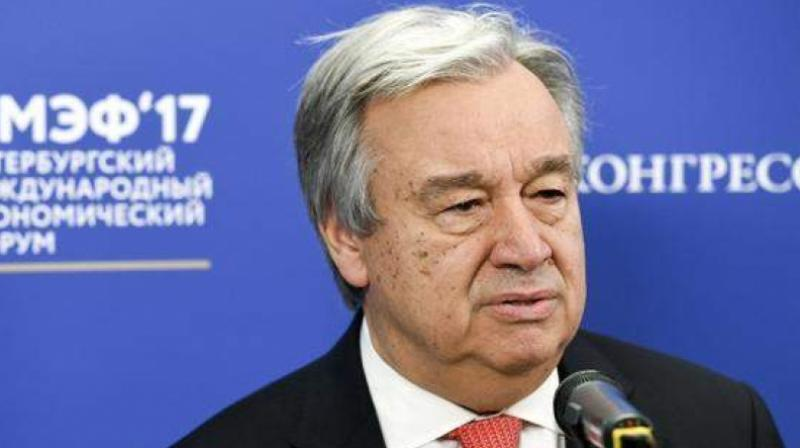 'It is clear that conditions are not yet met for the safe, voluntary, dignified and sustainable return of Rohingya refugees to their places of origin or choice,' Guterres added. (Photo: AP)