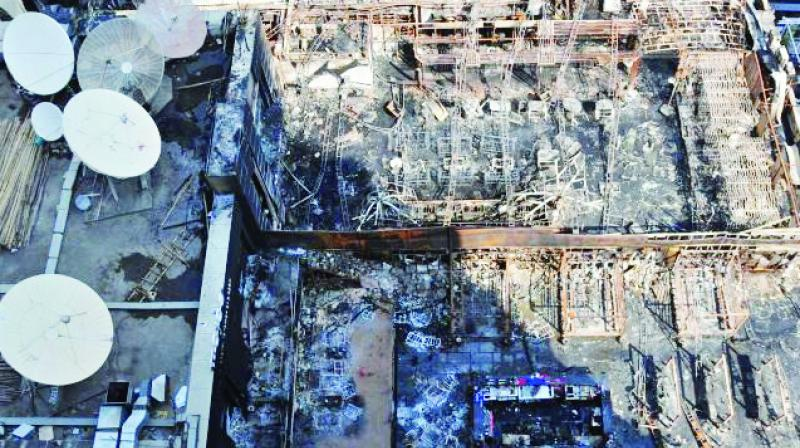 Fourteen people were killed in a fire at Kamala Mills compound on Dec. 29.