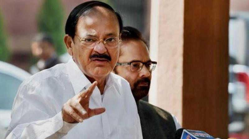 Vice President M. Venkaiah Naidu (Photo: PTI)