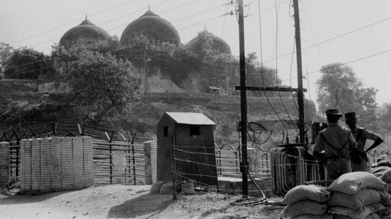 File photo of Babri Masjid in Ayodhya (Photo: PTI/File)