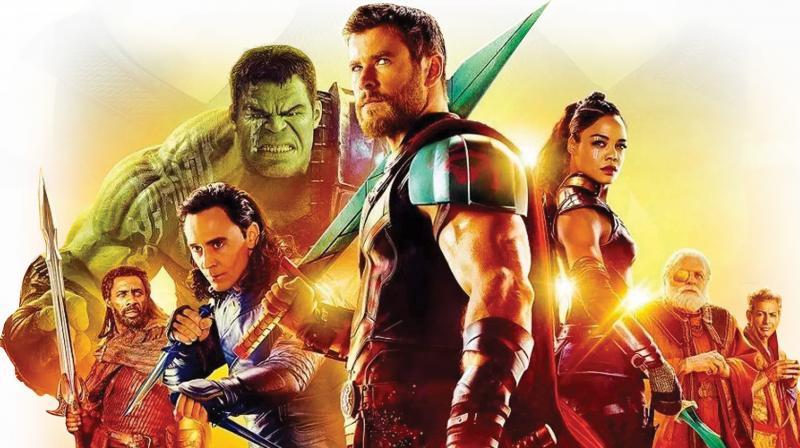 Still from the movie Thor: Ragnarok