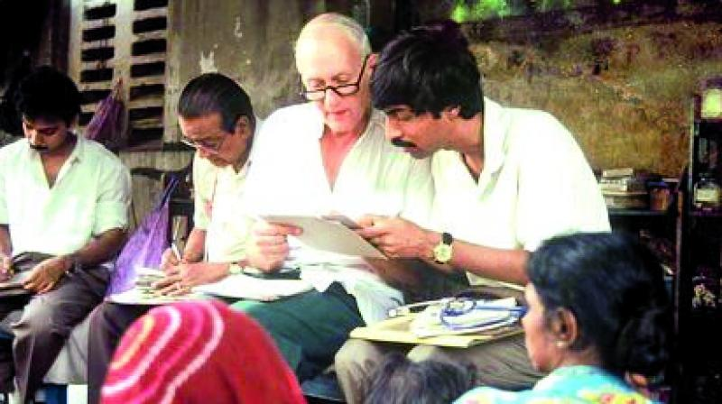 """The NGO """"Calcutta Rescue"""" had been founded by Dr Preger."""