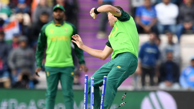 Morris said it had been a much better performance by the South Africans after their opening two losses. (Photo: AFP)