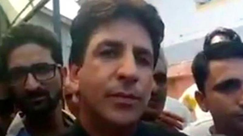 'Shouldn't we call the people who died in Kashmir since 1953 as 'Shaheed'? Who will you call 'Shaheed' then? Are they fighting for their personal interests? There is some reason because of which people are shedding hot blood here,' Veeri said. (Photo: ANI)