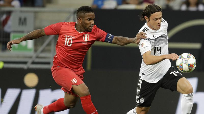 Leroy Sane and Serge Gnabry gave coach Joachim Loew an unexpected fillip as he seeks to restore the flagging fortunes of the 2014 world champions. (Photo: AP)