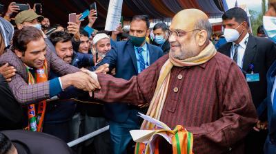 Amit Shah: No dialogue with Pakistan on Kashmir, government to talk to Kashmiris