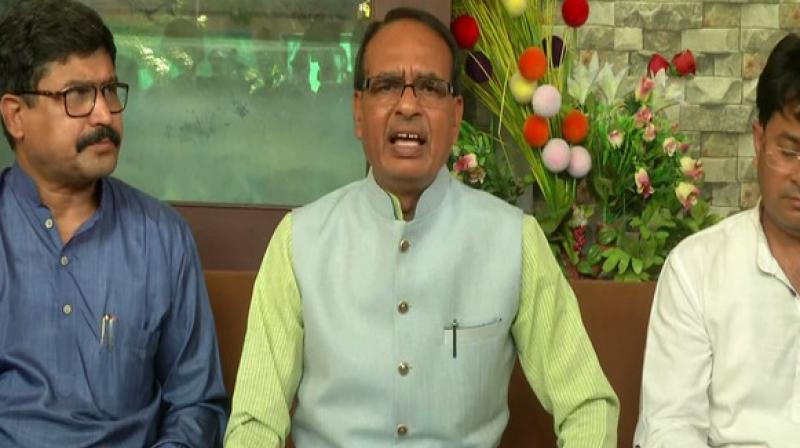 'I appeal to the state government and Chief Minister Kamal Nath that they should satisfy the farmers rather than making me feel contended by paying money to the banks,' Chouhan said. (Photo: ANI)