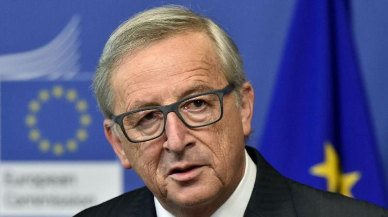 After months of tortuous negotiations, European Commission chief Jean-Claude Juncker struck a deal with May on outline terms of Britain's withdrawal from the EU.(Photo: File)