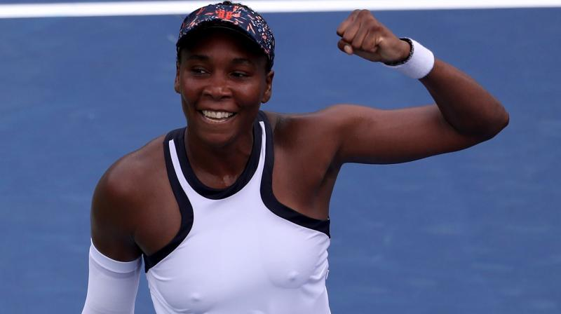 Former world number one Venus Williams, playing what she called 'smart' tennis, beat defending champion Kiki Bertens 6-3 3-6 7-6(4) in the second round of the Cincinnati Masters on Tuesday. (Photo:AFP)
