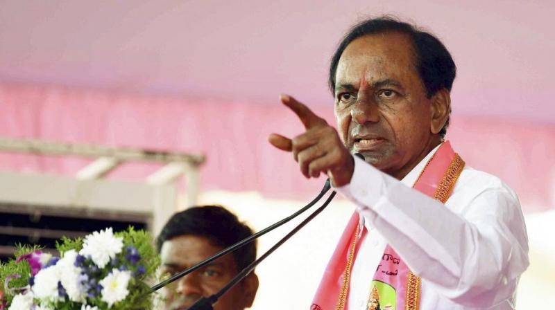 Chief Minister and TRS supremo K Chandrasekhar Rao. (Photo: PTI)