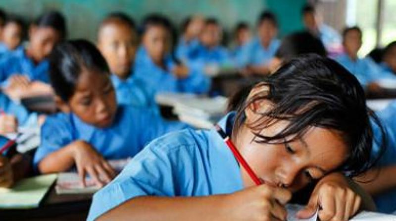 It was found that 11 students in Panchgani, Satara district, developed skin ailments and another school in Palghar did not provide bath water to its students for 15 days. (Representational Image)