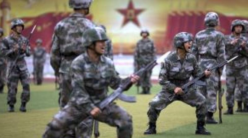 This month the official PLA Daily spelt out on social media 10 reasons why so many potential recruits fall at the first hurdle. (Photo: AP)