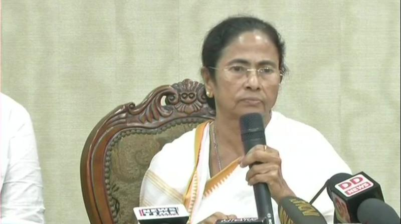 'A film has been released suddenly ahead of the elections...Accidental PM! Everyone is accidental PM. I fail to understand the meaning of accidental PM,' said CM Mamata Banerjee. (Photo: ANI | Twitter)
