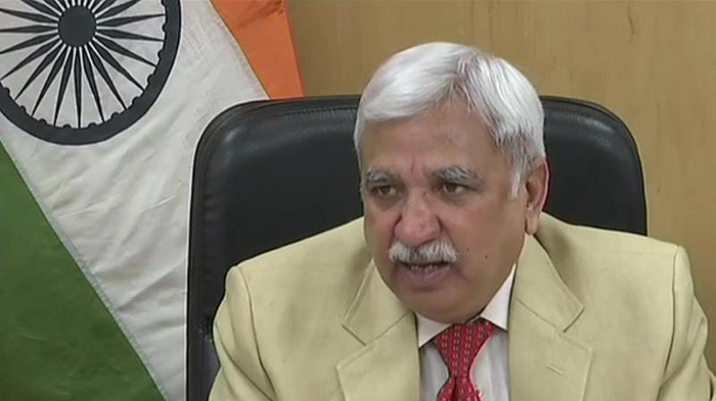 Election Commission chief Sunil Arora said the process of filing nominations would begin on September 27 and end on October 4. (Photo: File)