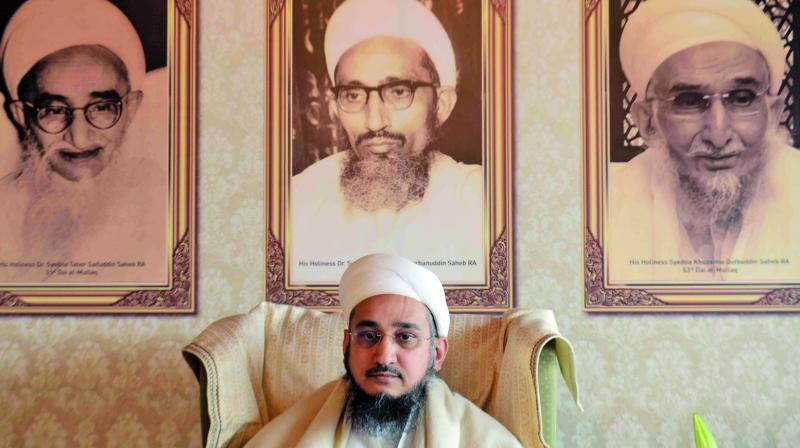 Embroiled in the legal battle with his cousin brother over the title of Syedna, Taher Fakhruddin Saheb ruled out the any possibility of a reconciliation happening.