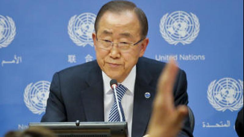 United Nations Secretary-General Ban Ki-moon. (Photo: AP)