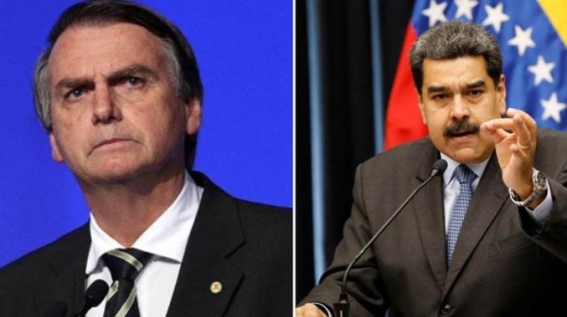 Jair Bolsonaro also has accused Maduro of being a dictator (Photo: File)
