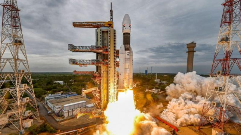 Chandrayaan-2, aimed at landing a rover on unchartered Lunar South Pole, was launched on July 22, 2019. (PTI file image)