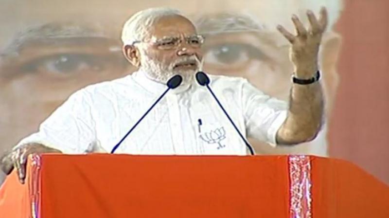 Prime Minister Narendra Modi. (Photo: Twitter/@BJP4India)