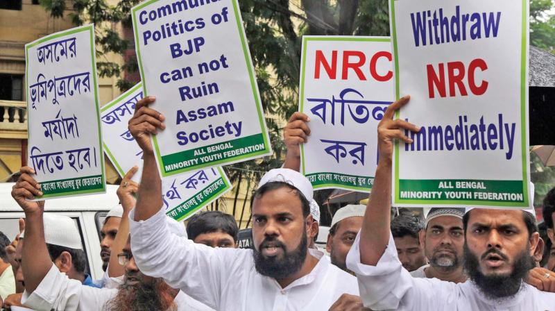 The Assam unit of Rashtriya Bajrang Dal has called a 12-hour state-wide shutdown on Friday to press its demand for scrapping final NRC list published on August 31, its president Dinesh Kalita said. (Photo: File)