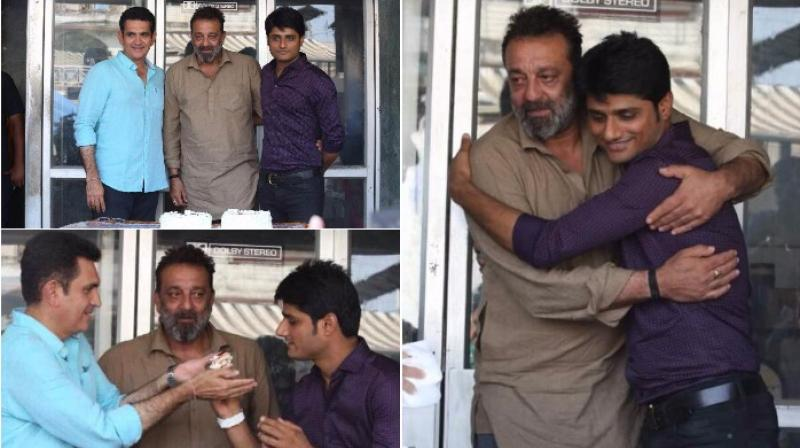 Sanjay gets sentimental on the last day of his film's shoot
