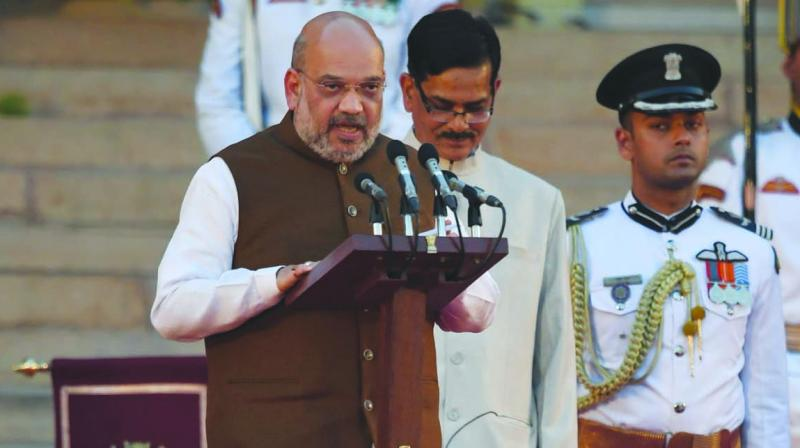 BJP chief Amit Shah (Photo: AFP)