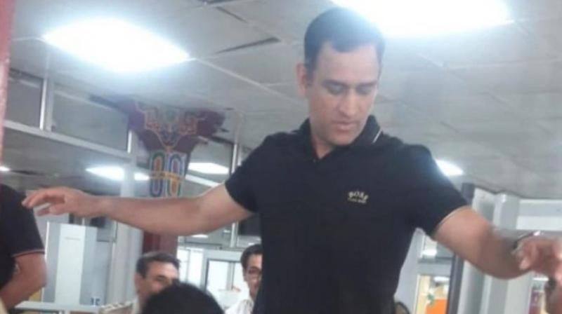 He was recently spotted at the Leh airport after having completed his training. Photos of him at the airport have since gone viral. (Photo: Twitter)