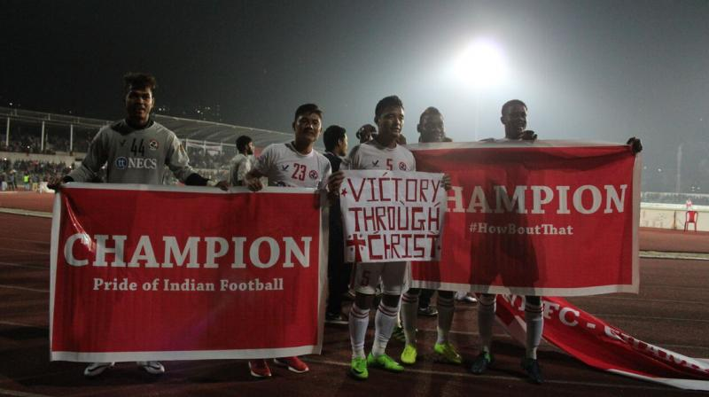 Aizawl had the odds stacked against them this season with Kolkata giants Mohun Bagan pushing them all the way. (Photo: I-League Media)