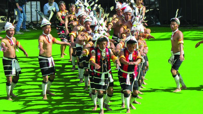 Anthropologists say dance preceded language. The opportunity to have such a feast of dance, music, crafts, food and history packed into this well-organised festival is a gift to the country from Nagaland.