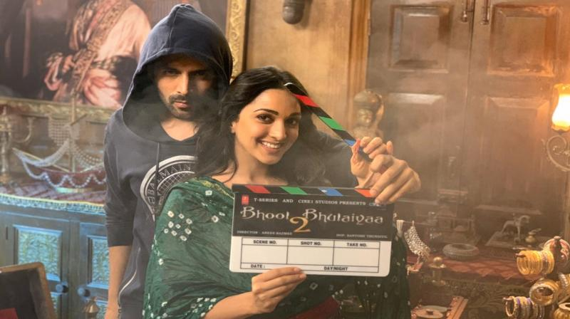 Kartik Aaryan and Kiara Advani.