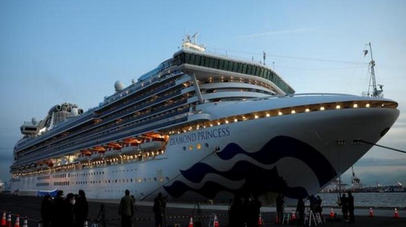 Japanese cruise ship Diamond Princess. ANI Photo