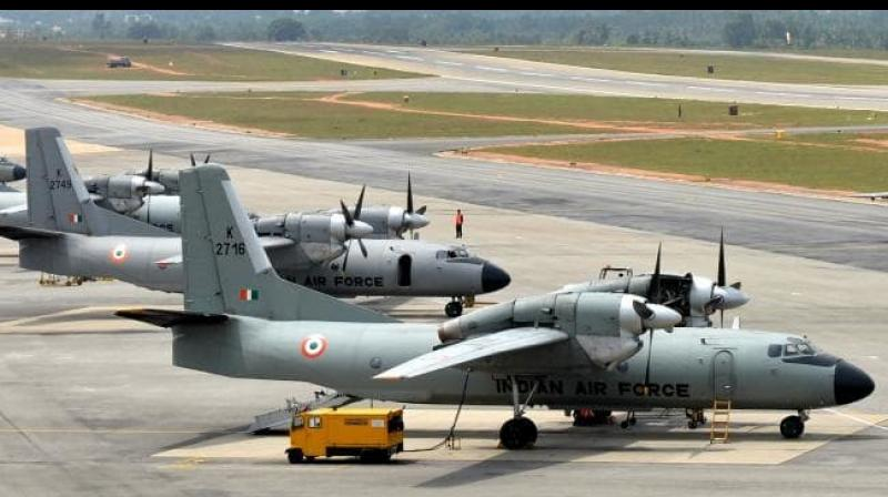 Navy in a statement yesterday said that its Long Range Maritime Reconnaissance aircraft P8I took off from INS Rajali in Arakonam, Tamil Nadu at 1 pm to join the search and rescue operation. (Photo: AFP)