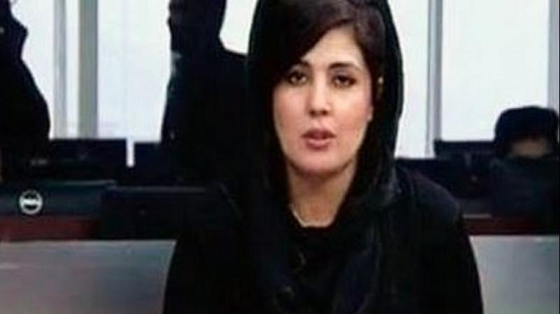 Mina Mangal, who had worked as a news presenter for three local TV networks, attacked by the gunmen on Sunday morning, reported Tolo News. (Photo: ANI)