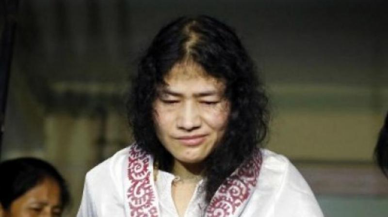 Activist Irom Chanu Sharmila.