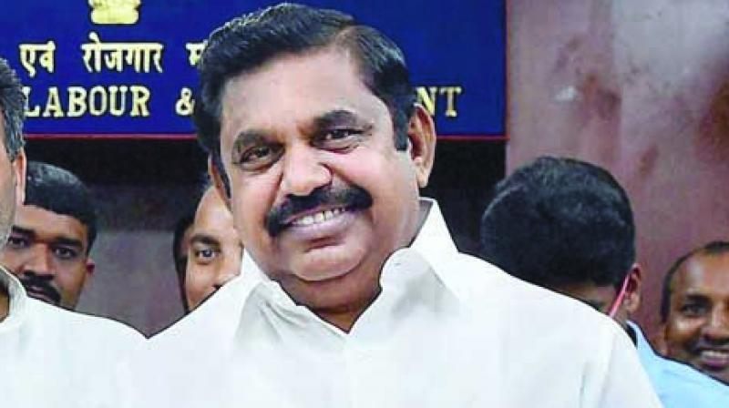 K Palaniswami, besides being co-coordinator of AIADMK, is also headquarters secretary and Salem rural district secretary. (Photo: Asian Age)