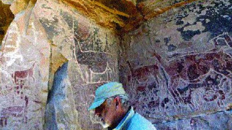 Archaeologist Jose Bereguer, above, curator at Santiago's Museum of Pre-Columbian Art, describes the site as
