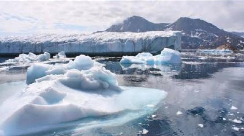 One of the implications of climate change that has not received much attention is its impact on civilisations. Representational Image. (ANI)