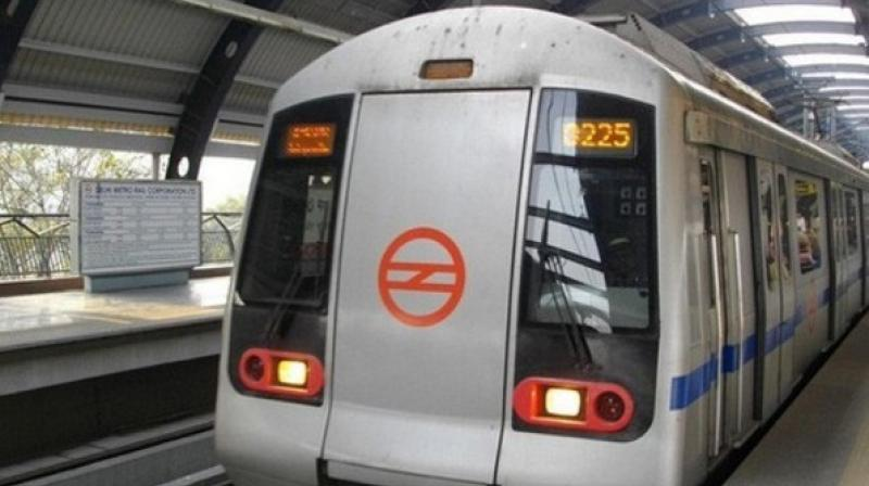 Disturbed over marital discord, a man allegedly committed suicide by jumping in front of a train on the Delhi Metro's Yellow Line on Wednesday, police said. (Representational Image)