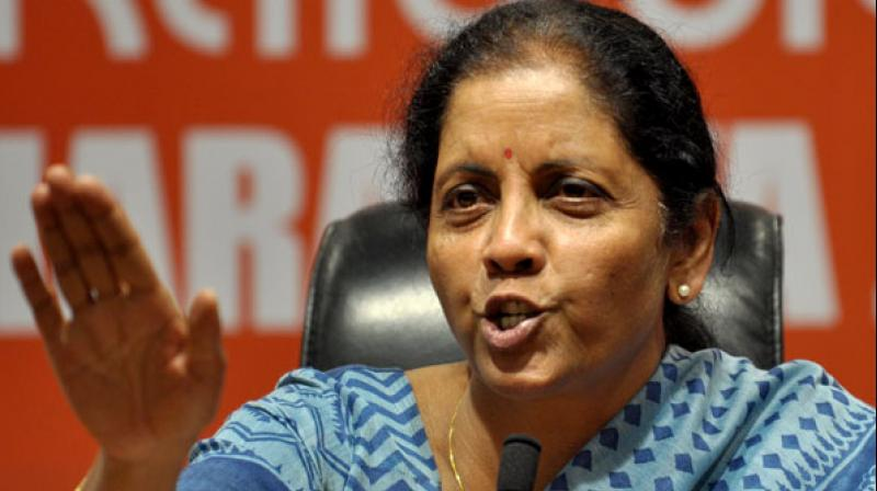 Finance minister Nirmala Sitharaman (Photo: File)