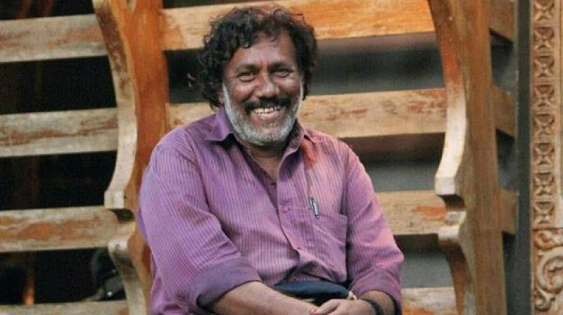 Kureepuzha Sreekumar, a noted Malayali poet, was threatened after he attacked Hindutva forces over their stand on the controversy over the construction of a 'caste wall' at Vadayampady near Kochi. (Photo: Facebook)
