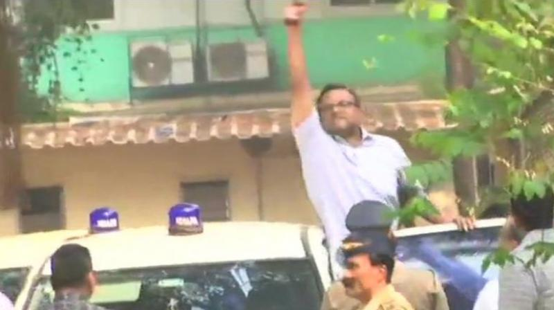 Earlier, a single judge bench of the Madras High Court had stayed the LOC issued against Karti Chidambaram and others in the graft case. (Photo: ANI)