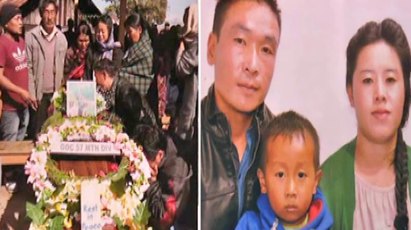 According to the family's statement, they were not informed about the death of Lance Naik Muiwo. (Photo: ANI)