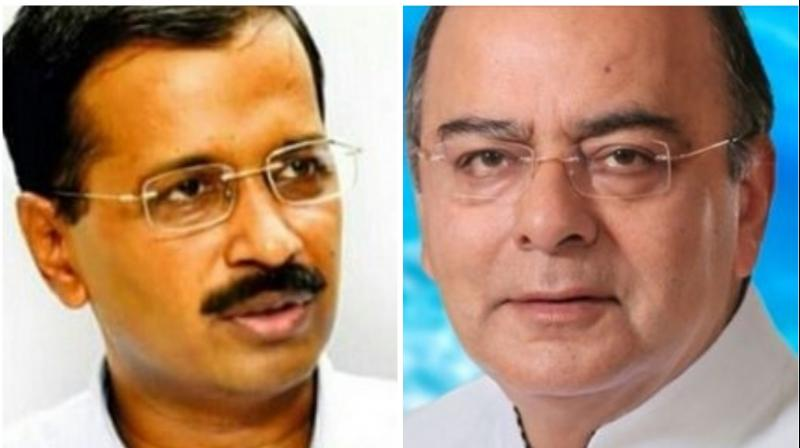 Jaitley had filed a separate Rs 10 crore defamation case against Kejriwal after his then lawyer, Ram Jethmalani, had used objectionable words against Jaitley during his cross-examination in the first suit. (Photo: Twitter)