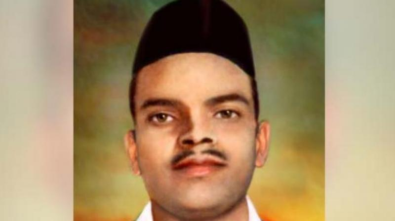 'There is no proof available (to suggest) that Rajguru was a RSS swayamsevak and neither did our grandfather tell us so,' Satyasheel and Harshwardhan Rajguru, grandsons of the revolutionary's brother, said in Pune. (Photo: Facebook)