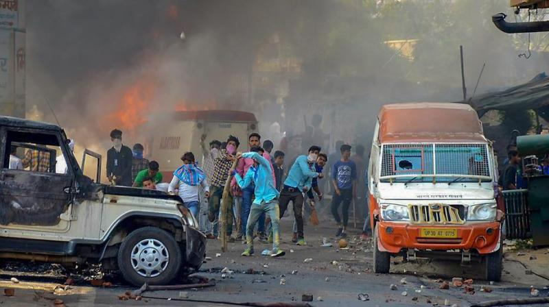 Bharat Bandh by various Dalit outfits on April 2 led to widespread violence across the country and a number of deaths. (Photo: PTI)